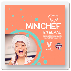 Mini Chef en el Mercado del Val
