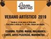 """""""Verano Artístico 2019"""" con Azar Teatro"""