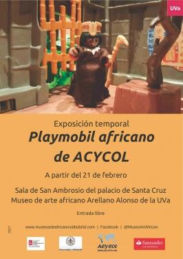 """Playmobil africano de ACYCOL"""