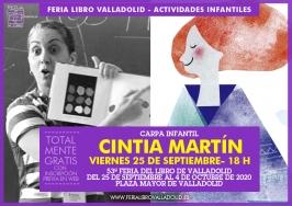 """""""Cintia Martín"""" en la 53 Feria del Libro de Valladolid"""