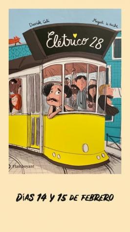 """Cuentacuentos: """"Eléctrico 28"""" en la Librería La Marmota"""
