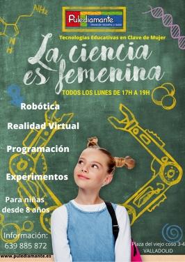 """""""La Ciencia es Femenina"""" en Pulediamante"""