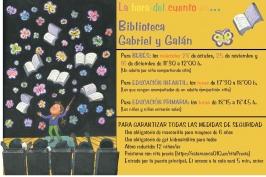 """""""La hora del cuento"""" en la Biblioteca Gabriel y Galán"""