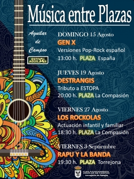 "Actividades en Verano ""Estival"" en Aguilar de Campoo"