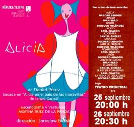 """Replika Teatro presenta """"Alicia atraviesa el espejo"""""""