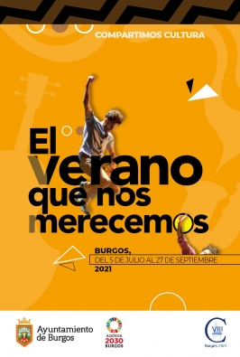"""Actividades culturales de verano en Burgos """"El verano que nos merecemos"""""""