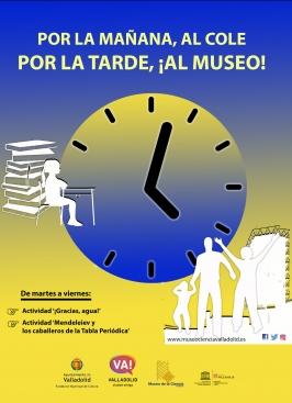 """""""Por la mañana al cole,  por la tarde el museo"""""""