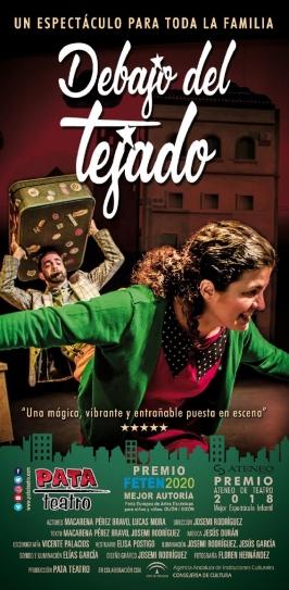 """Pata Teatro presenta """"Debajo del tejado"""""""