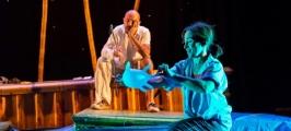 """Markeliñe Teatro presenta """"Crusoe"""""""