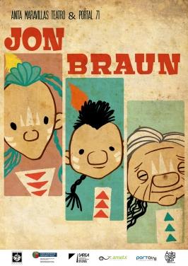 """Anita Maravillas Teatro & Portal 61 presenta """"Jon Braun""""."""