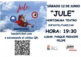 "Hortzmuga Teatro presenta ""Jule"""