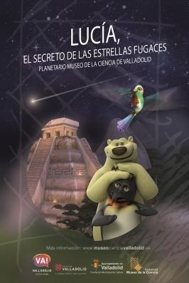 """Planetario: """"Lucía. El misterio de las estrellas fugaces"""""""