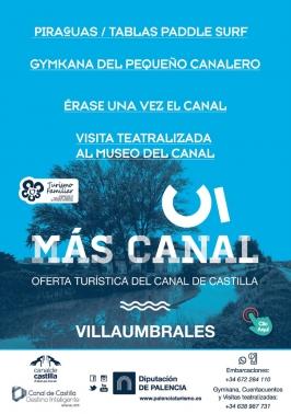"""""""Más Canal"""" Turismo en el Canal de Castilla"""