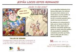 """Talleres de verano: """"¡Están locos estos Romanos"""" en el Museo de Ávila"""