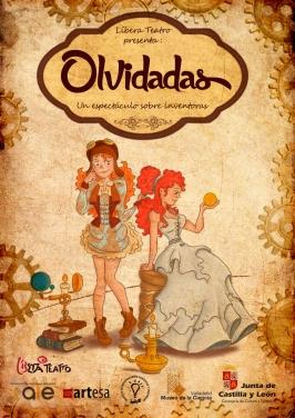 "Líbera Teatro presenta  ""Olvidadas"""