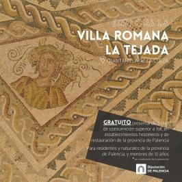 """Explora la Provincia de Palencia """"Villa Romana La Tejada"""""""