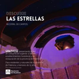 """Explora la Provincia de Palencia """"Descubre las Estrellas"""" Becerril de Campos (Palencia)."""