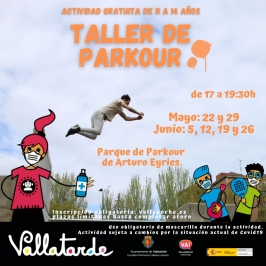 Vallatarde: Taller de Parkour