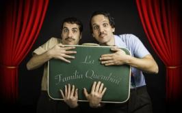 "Garrapete presenta ""La Familia Querubini""."