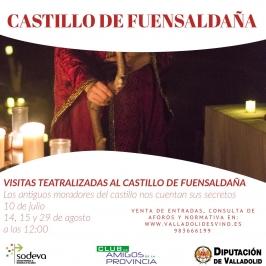 Visitas Teatralizadas. Castillo Fuensaldaña (Valladolid).