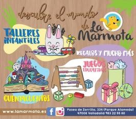 Librería La Marmota. Valladolid.