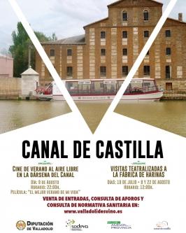 Canal de Castilla. Medina de Rioseco (Valladolid).