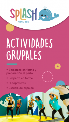 Actividades en Splash Baby Spa. Valladolid.