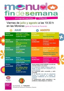 """Programa """"Menudo fin de Semana""""."""