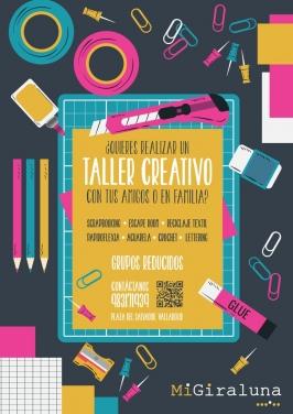 Talleres creativos. MiGiraluna, Valladolid.
