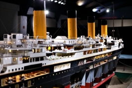 "Exposición: ""Titanic. The reconstruction"""