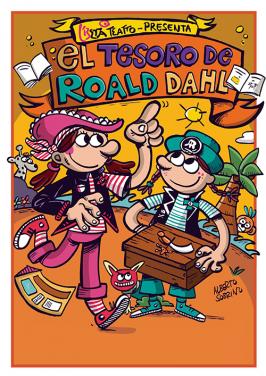 "Espectáculo infantil: ""El Tesoro de Roald Dahl"""