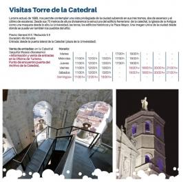 Visitas a la Torre de la Catedral en Valladolid