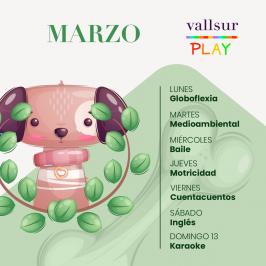 Actividades en Vallsur Play