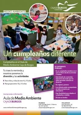 Aula de Medio Ambiente Caja de Burgos. Palencia