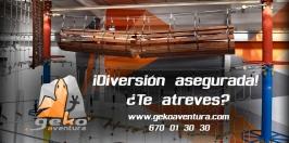GekoAventura: El parque multiaventura indoor más grande de España.