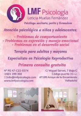 LMF Psicología, Leticia Muelas Fernández