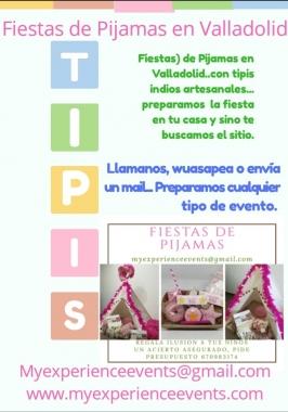 Fiestas de pijamas en Valladolid.