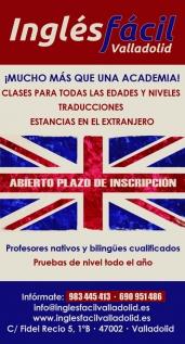 Inglés Fácil Valladolid 2019-2020