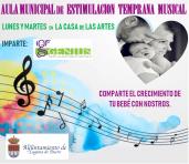 Aula Municipal de Estimulación Temprana Musical 2019-2020 en Laguna de Duero
