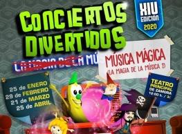 """Conciertos divertidos: """"La Magia de la música"""""""