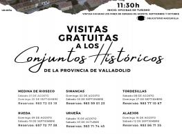 Visitas gratuitas a los Conjuntos Históricos
