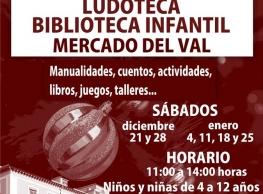 Ludoteca Biblioteca Infantil en el Mercado del Val