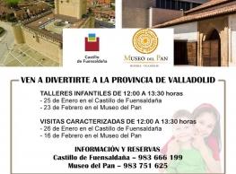 Talleres infantiles y Visitas Carcterizadas en el Castillo de Fuensaldaña