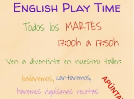 English Play Time en la Guardería Trompita