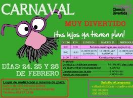 """""""Carnaval Divertido"""" con Ciencia Divertida"""