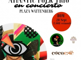"""Concierto: """"Atlantic Folk Trío"""""""
