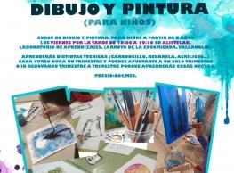 Curso de dibujo y pintura para niños en Alistelab