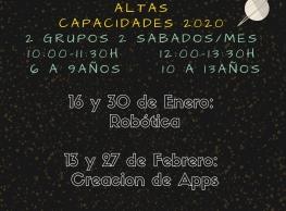 """""""Altas Capacidades 2021"""" en Pulediamante"""