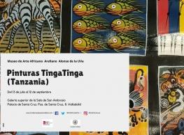 """Pinturas Tinga Tinga (Tanzania)"" en el Museo de Arte Africano Arellano Alonso"