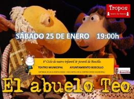 """Tropos Teatro presenta """"El abuelo Teo""""."""